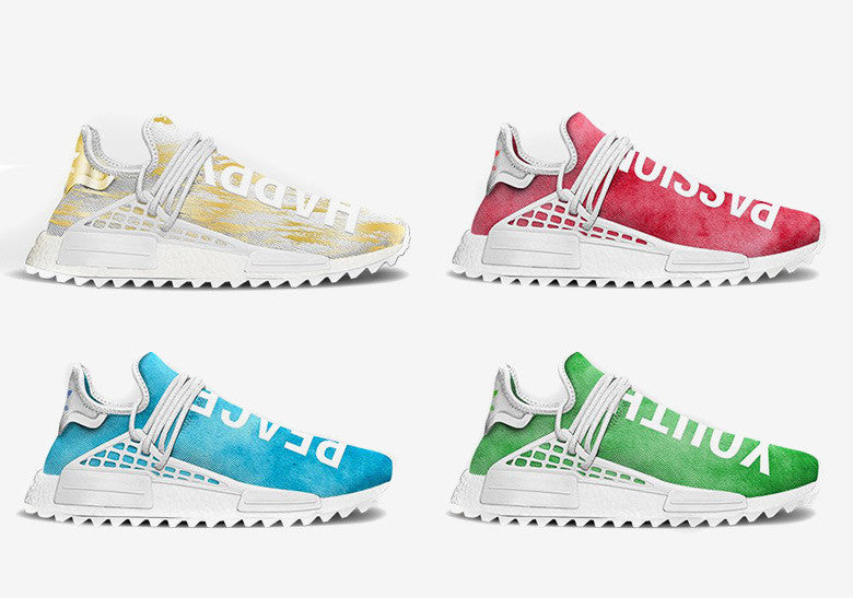 cheap for discount 97db4 f2d6a Adidas NMD Human Race China Exclusive Colorways - Slickies