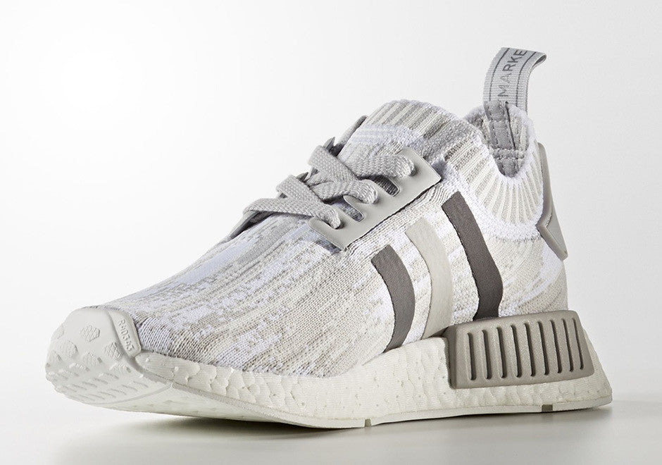 How To Lace Your Sneakers / Swap Your Shoe Laces : ADIDAS NMD R1 3 Tones of Grey