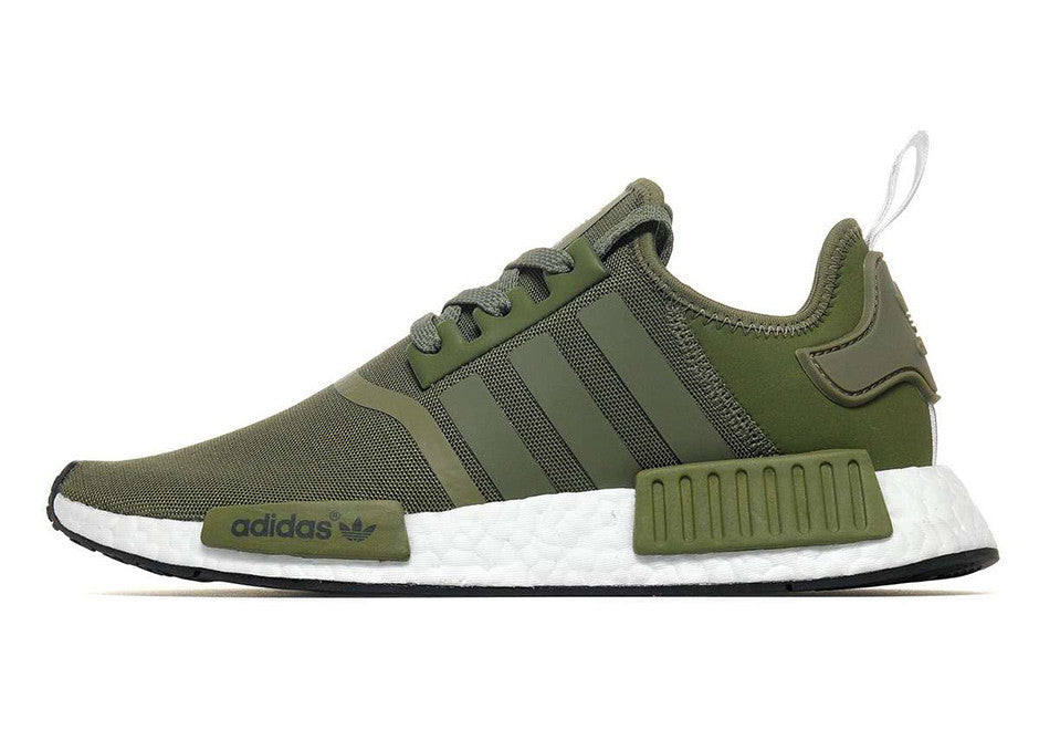 Want a pair of NMD R1 Olive sneakers?