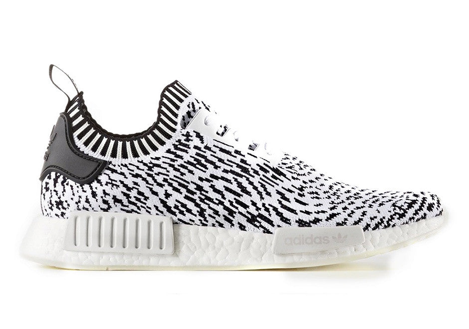 How To Lace Your Sneakers / Swap Your Shoe Laces : ADIDAS NMD R1 Primeknit  Zebra
