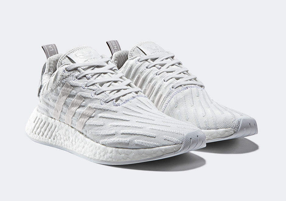 low priced 6cb95 5957e How To Lace Your Sneakers   Swap Your Shoe Laces   ADIDAS NMD R2 Triple  White
