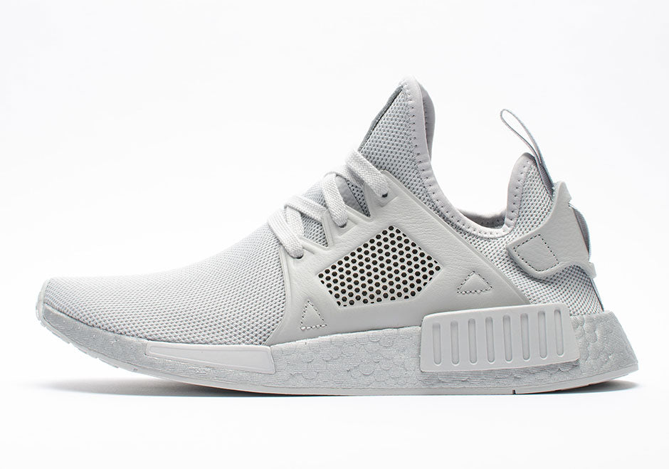 5502d13609f7 How To Lace Your Sneakers   Swap Your Shoe Laces   ADIDAS NMD XR1 Silver  Boost