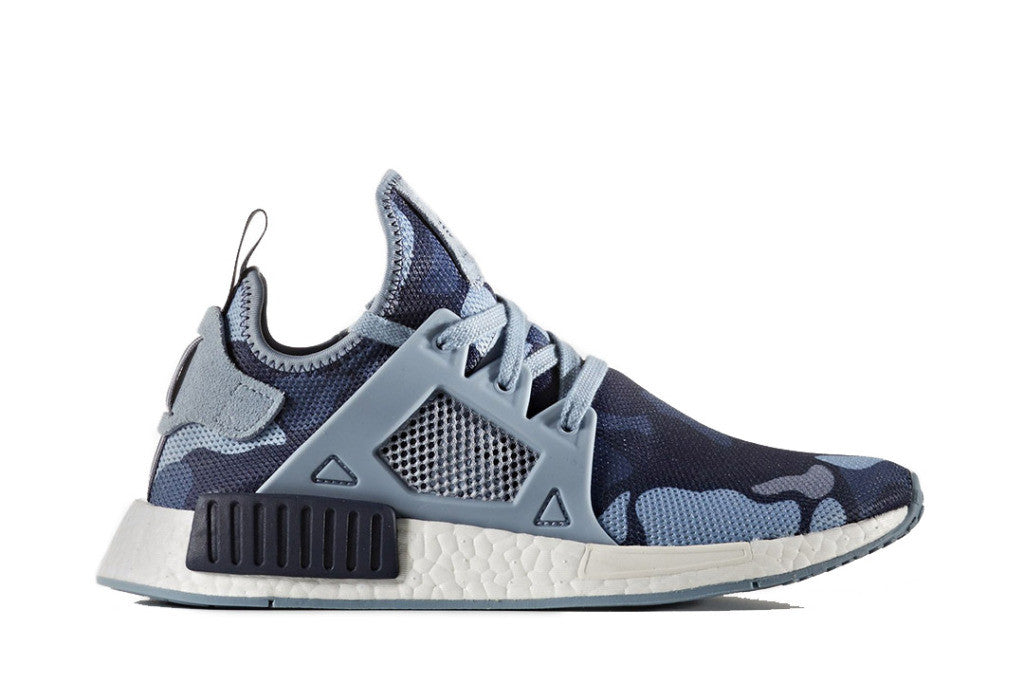 How To Lace Your Sneakers / Swap Your Shoe Laces : ADIDAS NMD XR1 Duck Camo Blue