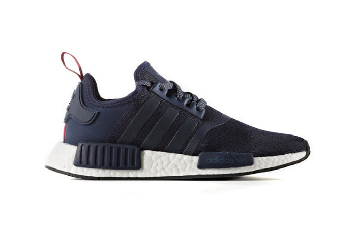 daab35cc61dd1 How To Lace Your Sneakers   Swap Your Shoe Laces   ADIDAS NMD R1 Collegiate  Navy
