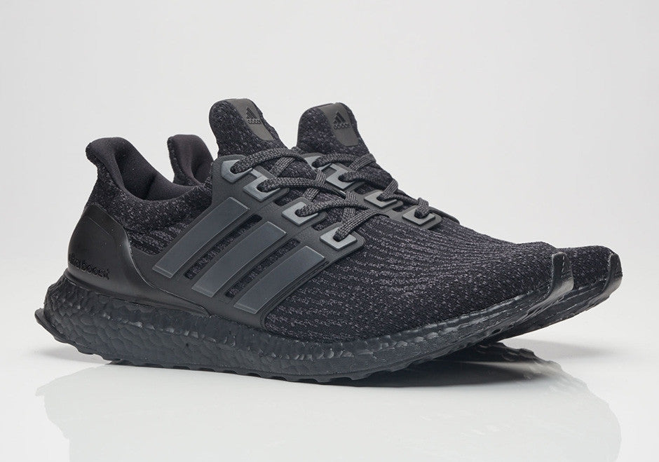 sale retailer b8b61 ff2aa How To Lace Your Sneakers   Lace Swap   ADIDAS Ultra Boost 3.0 Triple Black