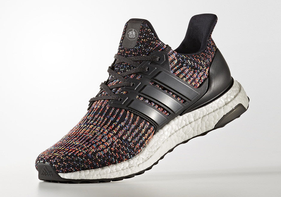 How To Lace Your Sneakers / Swap Your Shoe Laces : ADIDAS Ultra Boost 3.0 Multicolor Ltd