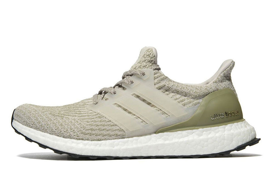 How To Lace Your Sneakers / Swap Your Shoe Laces : ADIDAS Ultra Boost 3.0 Olive
