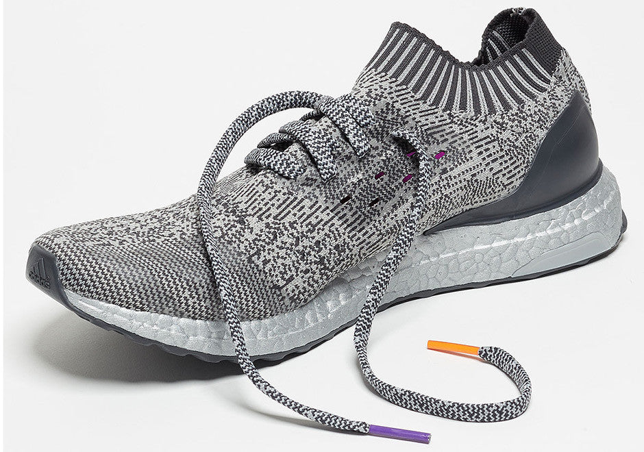 How To Lace Your Sneakers / Swap Your Shoe Laces : ADIDAS Ultra Boost Uncaged Silver Pack