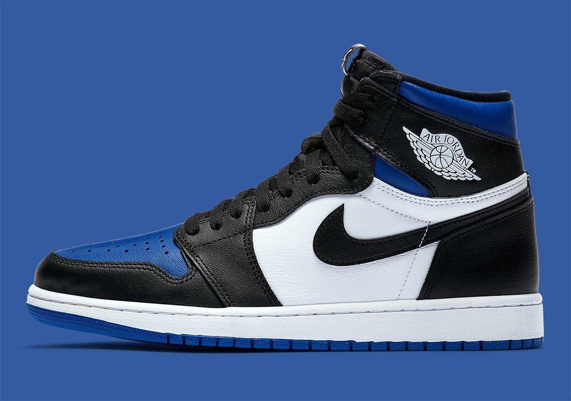 "Air Jordan 1 High ""Royal Toe"" releasing on May 9th 2020 
