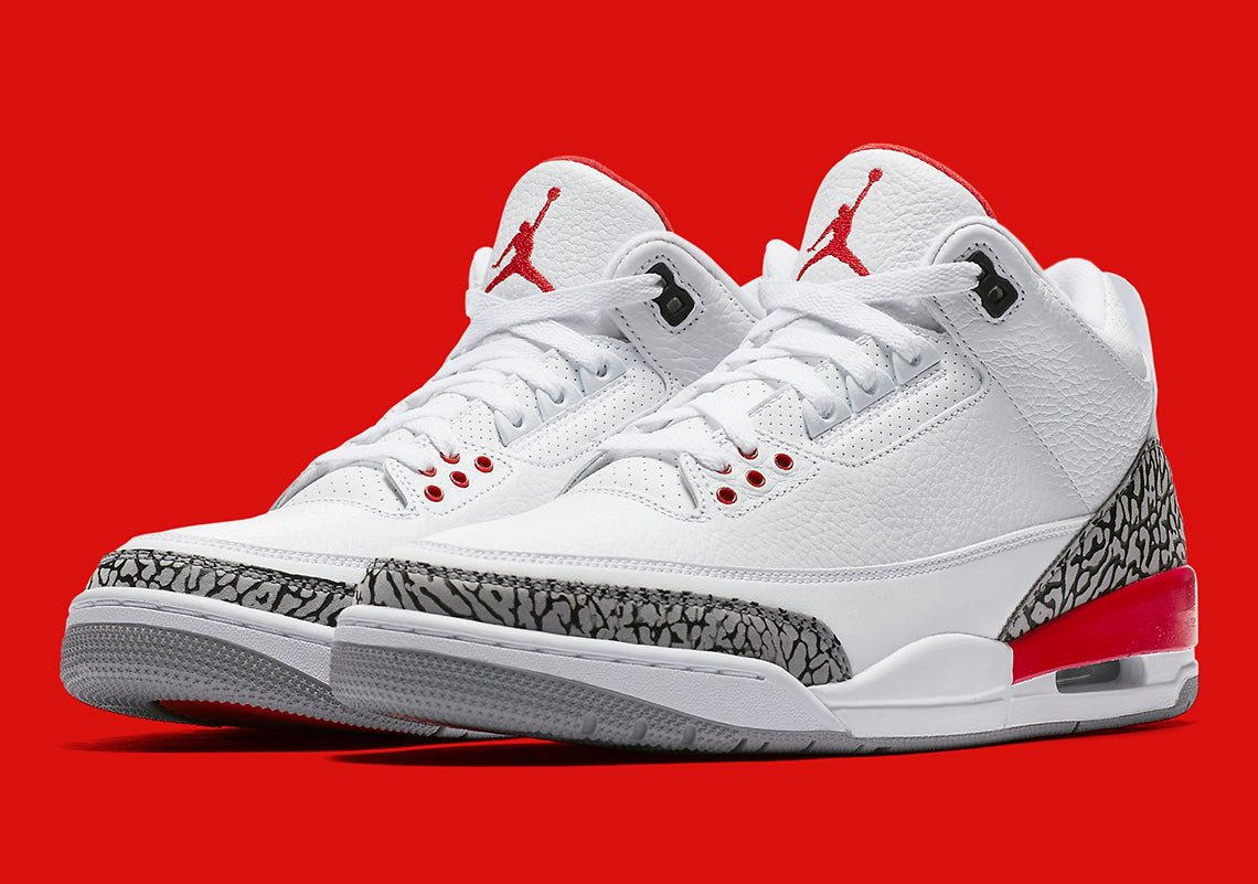 How To Lace Your Sneakers / Swap Your Shoe Laces : NIKE Air Jordan 3 Katrina