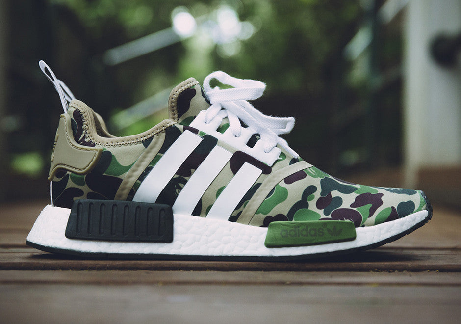 timeless design b7bb7 585f4 How To Lace Your Sneakers  Swap Your Shoe Laces  ADIDAS NMD R1 x BAPE