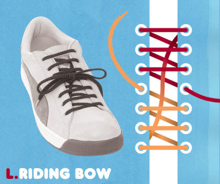 How to tie a shoelace bow
