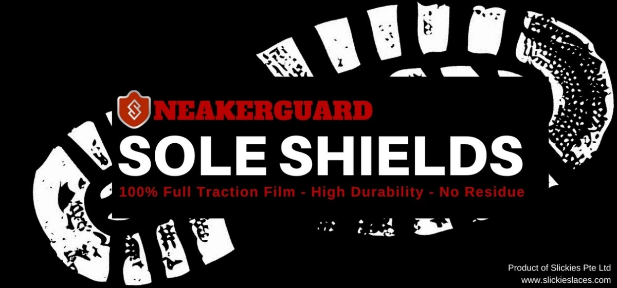 How to apply SNEAKERGUARD Sole Shields on sneakers? | Slickies