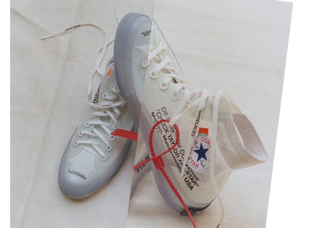 How To Lace Your Sneakers / Swap Your Shoe Laces : OFF WHITE Converse Chuck Taylor | Slickies