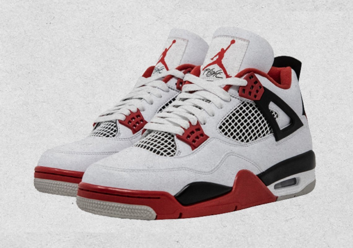 "Nike Air Jordan 4 IV ""Fire Red"" arriving this Black Friday 2020 