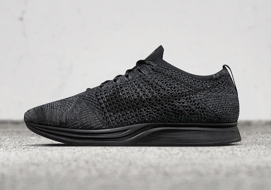 buy online c5934 f84d0 How To Lace Your Sneakers   Swap Your Shoe Laces   NIKE Flyknit Racer  Midnight Triple