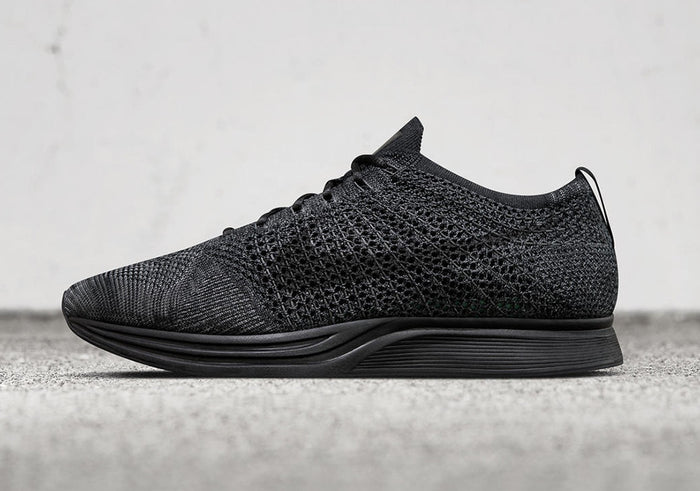 2c58b010c How To Lace Your Sneakers   Swap Your Shoe Laces   NIKE Flyknit Racer  Midnight Triple