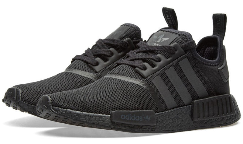 How To Lace Your Sneakers / Swap Your Shoelaces : ADIDAS NMD Mesh Triple Black