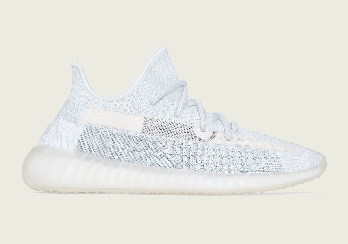 "Official images of the Yeezy Boost 350 V2 ""Cloud White"" 