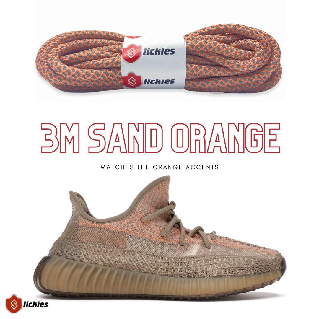 Where to buy 3M shoe laces for the Yeezy Boost 350 V2 Sand Taupe 2020?