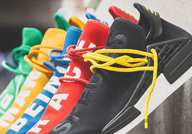 official photos 0e0dd d8fa5 How To Lace Your Sneakers   Swap Your Shoe Laces   Pharrell X ADIDAS NMD Hu
