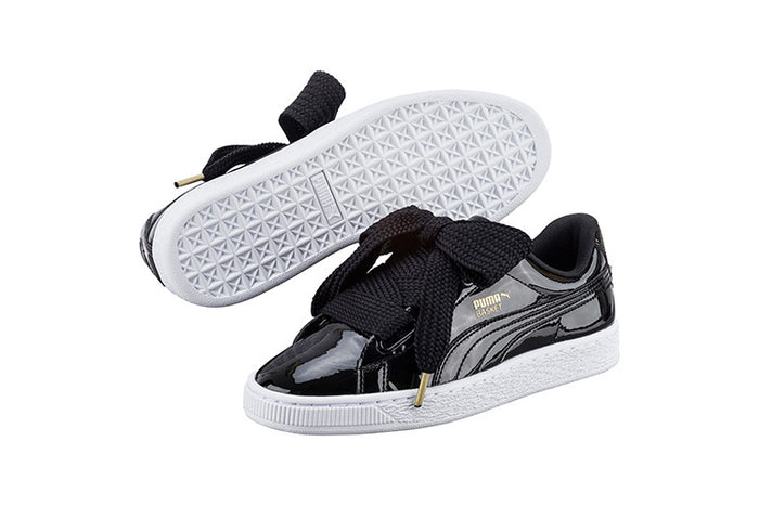 758a9532697 How To Lace Your Sneakers   Swap Your Shoe Laces   PUMA Basket Heart