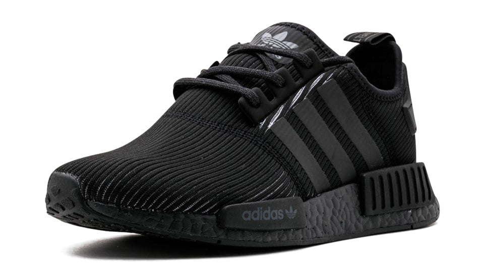 cb7498604 How To Lace Your Sneakers   Swap Your Shoe Laces   ADIDAS NMD R1 Triple  Black