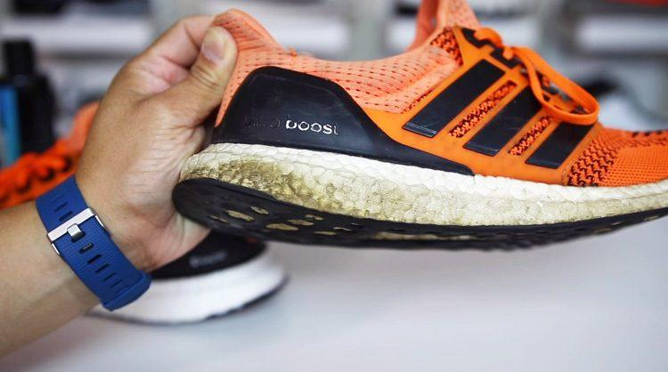 What is the cheapest method to whiten your yellowing BOOST Midsole? | Slickies