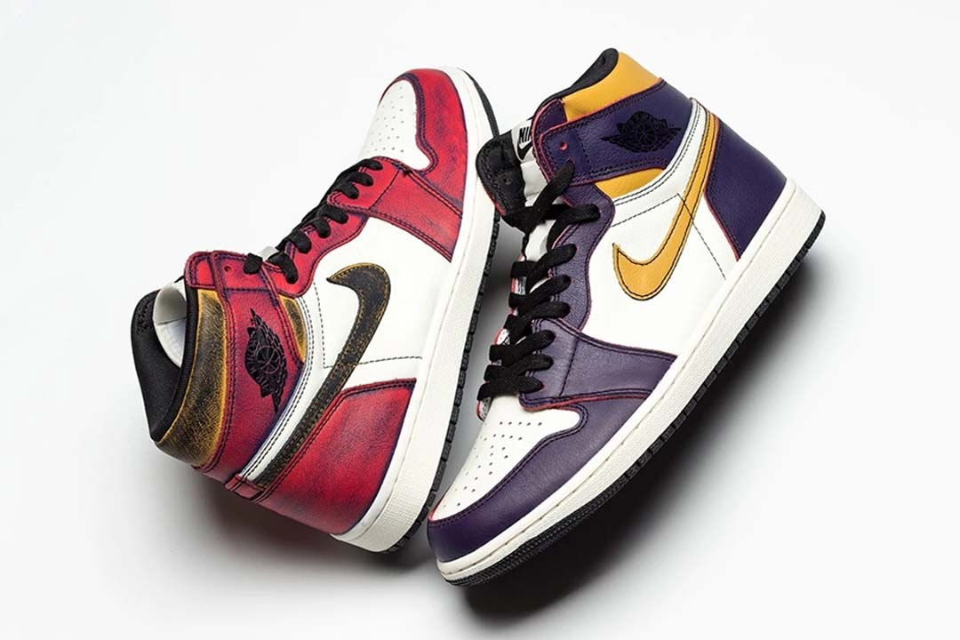 What sneaker socks should you wear with NIKE SB x Air Jordan 1 LA to Chicago? | Slickies
