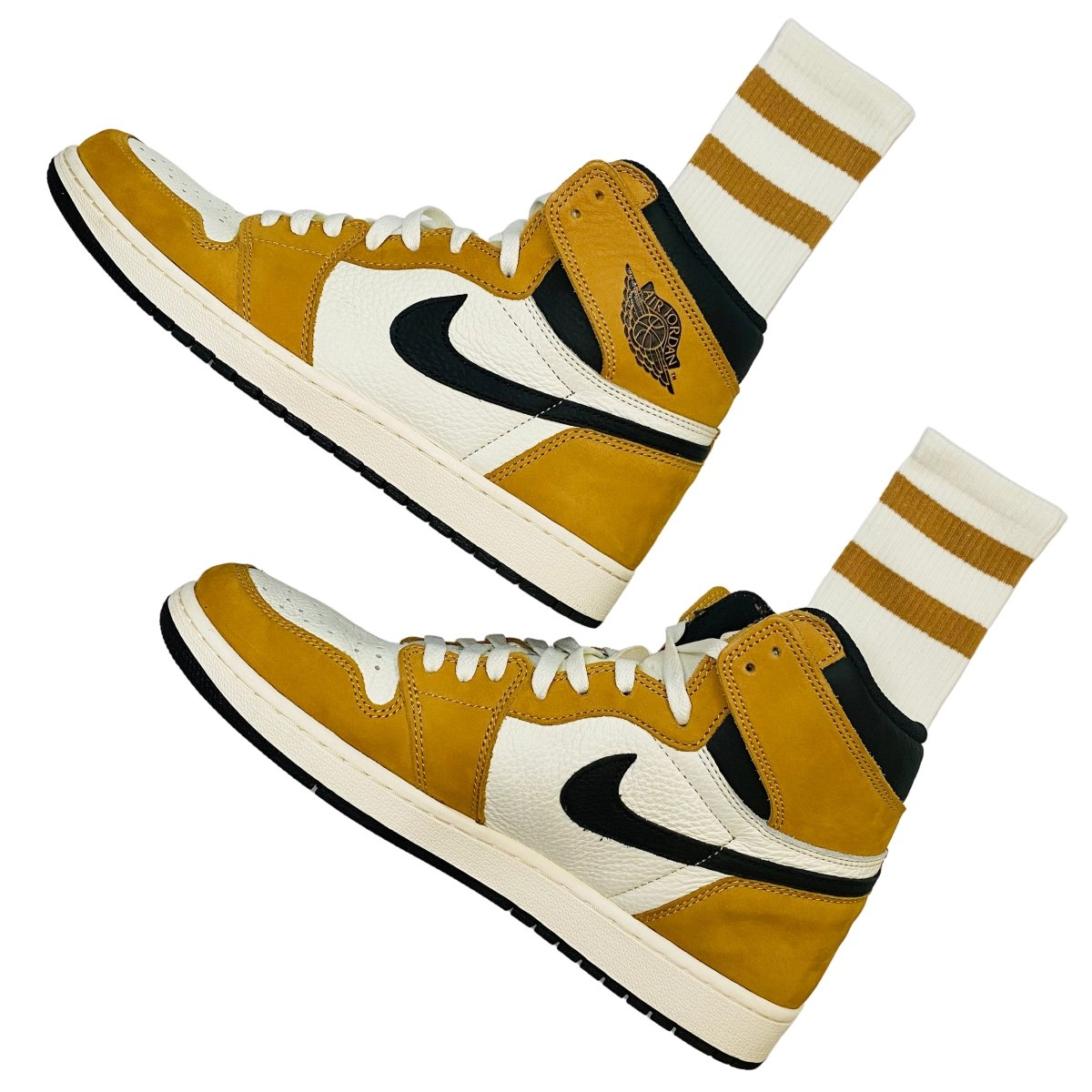 Where to buy crew socks for the NIKE Air Jordan 1 Rookie of the Year? | Slickies
