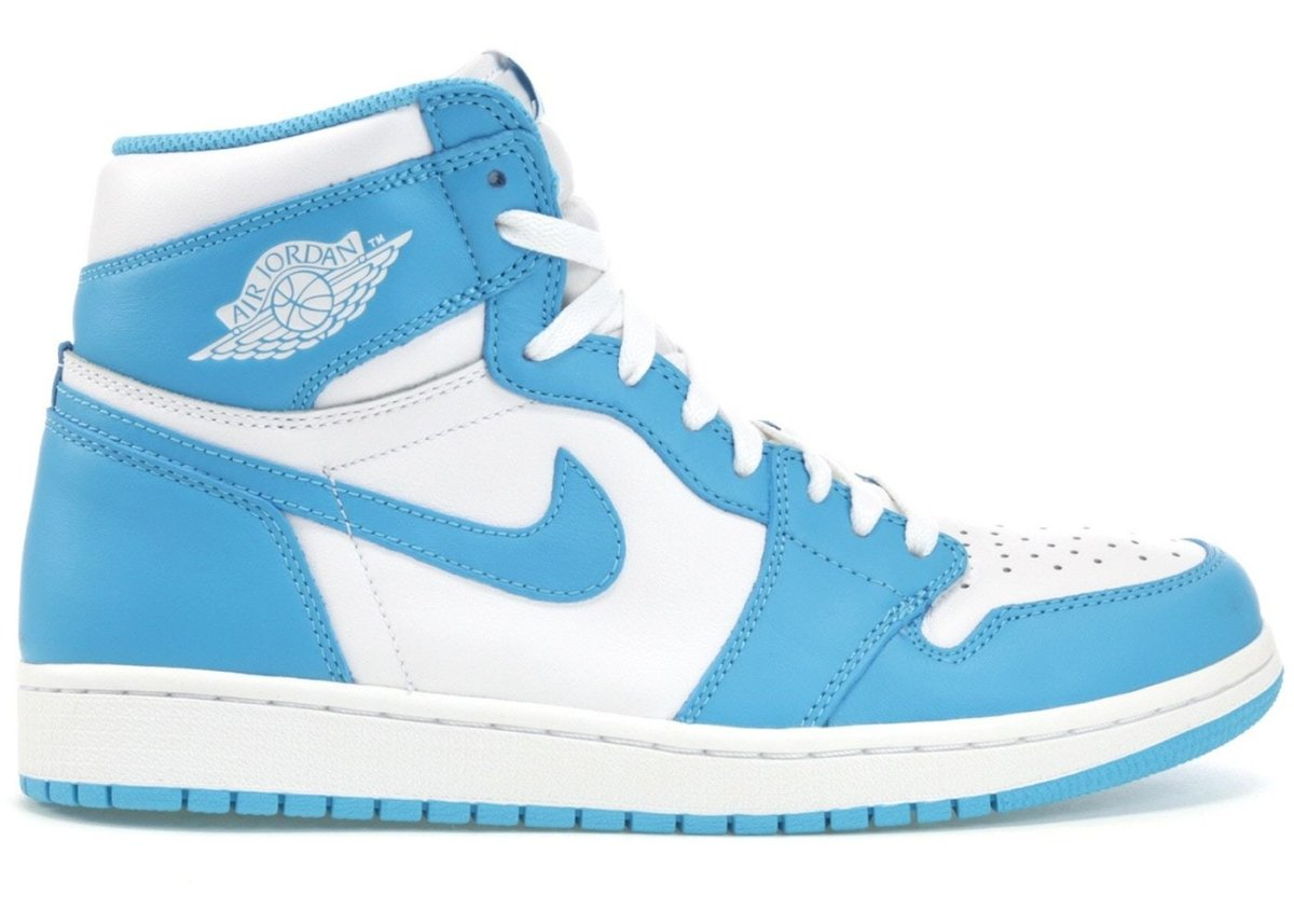Where to buy UNC Blue Shoe Laces for Air Jordan 1 UNC? | Slickies