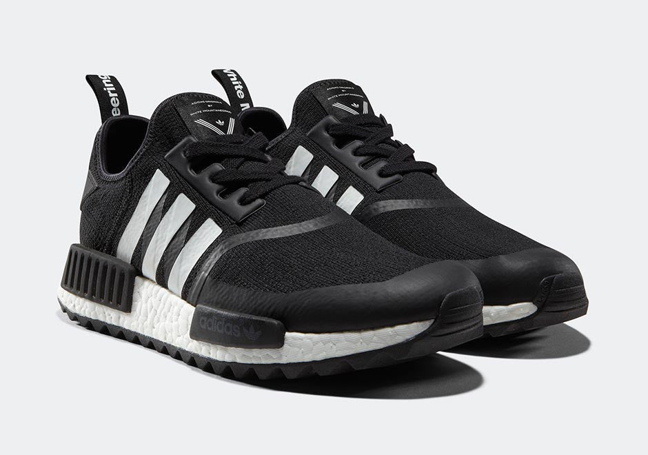 How To Lace Your Sneakers / Swap Your Shoelaces : ADIDAS White Mountaineering X ADIDAS NMD Trail