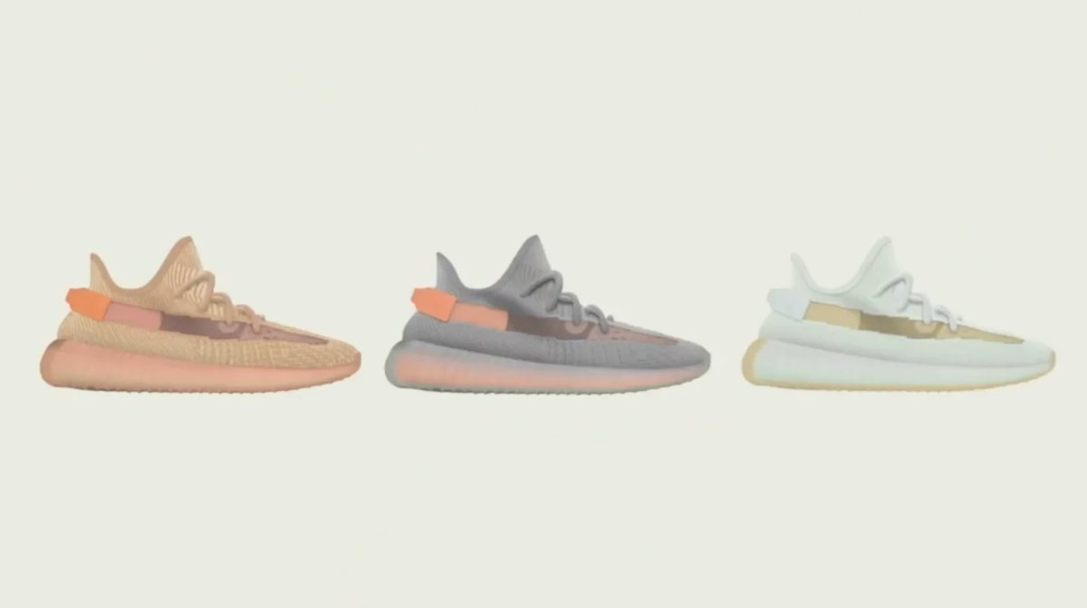 "Yeezy Boost 350 V2 ""Clay"" ""Hyperspace"" and ""True Form"" will be a regional release 