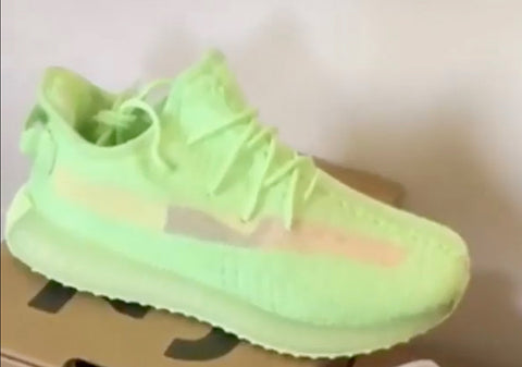 Kim Kardashian previews new Yeezy Boost 350 V2s on snapchat