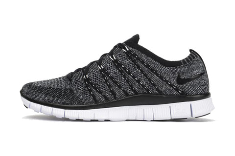 Nike Free Flyknit 5. 0 Oreo Multi Color 831069 004 Mens Running Shoes 831069 004