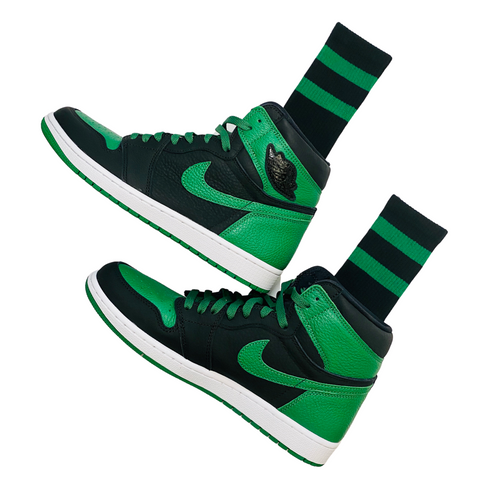 nike air jordan 1 pine green socks