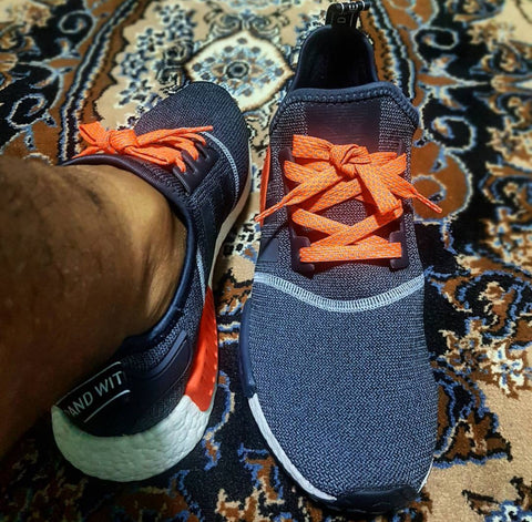 adidas nmd r1 reflective wool shoelaces laceswap