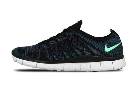 Shoelace Recommendations - NIKE Flyknit Free NSW Black/Green Glow-Radiant Emerald-Vivid Purple