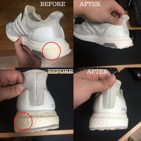 before and after picture sneakerguard