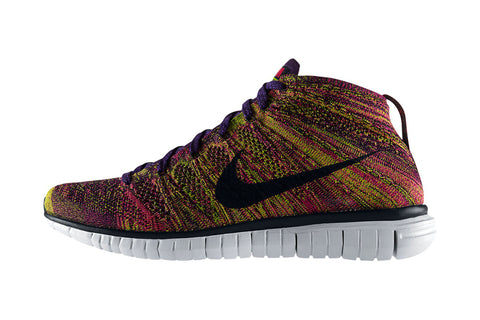 nike flyknit free chukka grand purple