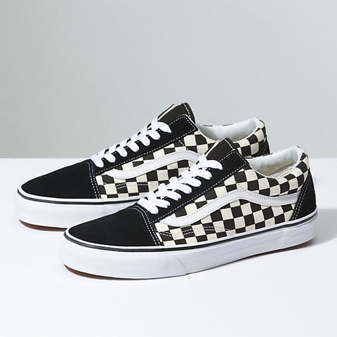 How To Lace Your Sneakers / Swap Your Shoe Laces : VANS Checkerboard Old Skool Black / White