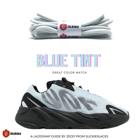 Blue Tint Laces for Yeezy 700 MNVN Blue Tint : Where to buy them? | by Slickieslaces