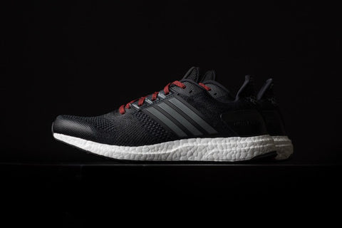 adidas ultra boost black iron red