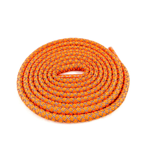 3m reflective rope shoelaces orange