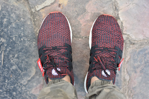 How To Lace Your Sneakers / Swap Your Shoe Laces : Year of the Dog Chinese New Year Ultra Boost