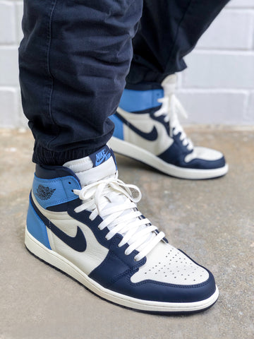 Where to buy shoe laces for the Air Jordan 1 UNC Obsidian?