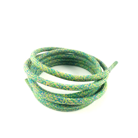 multicolor rope shoelaces laces