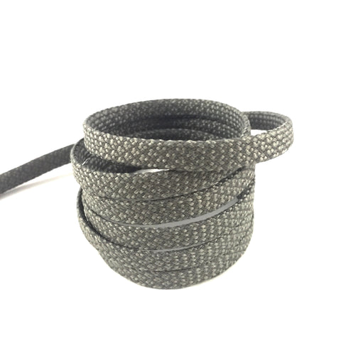 3m flat grey flat shoelaces laces reflective