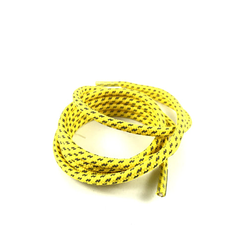 3m reflective cross grain rope yellow shoelaces