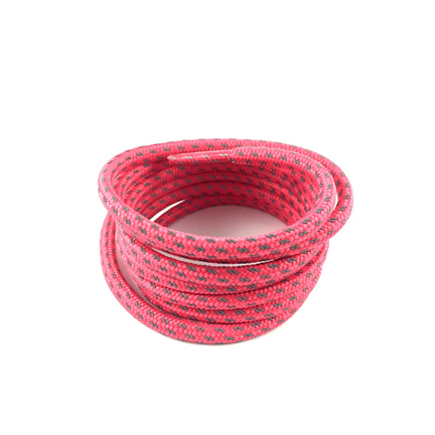 3m cross grain pink rope shoelaces